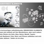 sticker mural arbre branches vrille salle de séjour,salon 40 couleurs pour le choix wbm64(010 blanc, set4:arbre ca.100x150cm (H) ) de la marque Deco-idea image 4 produit