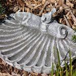 Stone and Style Pierre Abreuvoir pour oiseaux avec oiseau (enfichable), décoration de jardin, massif en pierre, le gel et aux intempéries jusqu'à -30°C de la marque Stone and Style image 0 produit