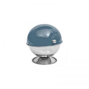 Sucrier - 9 x 13 cm - Inox - Bleu de la marque AC-Déco image 0 produit