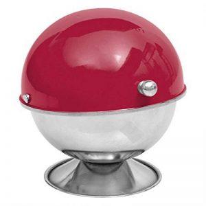 Sucrier - 9 x 13 cm - Inox - Rouge de la marque AC-Déco image 0 produit