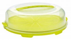Sundis 7239002 Fresh Boîte à tarte Plastique Lime 35,5 x 34,5 x 11,6 cm de la marque Sundis image 0 produit