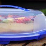 Sundis 7239002 Fresh Boîte à tarte Plastique Lime 35,5 x 34,5 x 11,6 cm de la marque Sundis image 2 produit