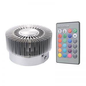 Sunix® Plafonnier RGB LED, 16 choix de couleurs, Couleur changeante, 24 Clés de Télécommande incluse, Lumière Murale avec Design d' Éparpillement Mural de la marque Sunix image 0 produit