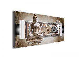 Tableau toile jardin zen déco bouddha de la marque Declina image 0 produit