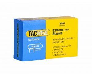 Tacwise Agrafes de Type 53/6 mm Galvanisées (Boîte de 5 000) de la marque Tacwise image 0 produit