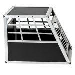 TecTake Cage Box Caisse de Transport pour Chien Mobile Aluminium - diverses tailles au choix - (Simple/petit | No. 400548) de la marque TecTake image 4 produit