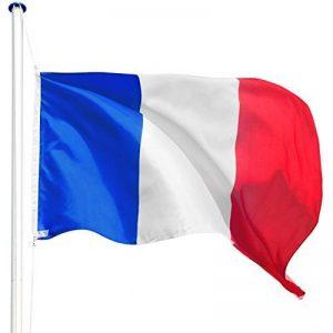 TecTake Mât de drapeau en aluminium 625 cm drapeau et corde inclus - diverses modèles - (France | no. 402618) de la marque TecTake image 0 produit