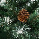 TecTake Sapin de Noël Artificiel avec Socle en Métal   Arbre de Noel - Diverses Couleurs et Tailles au Choix - (180 cm   705 Branches   Vert   No. 402822) de la marque TecTake image 3 produit