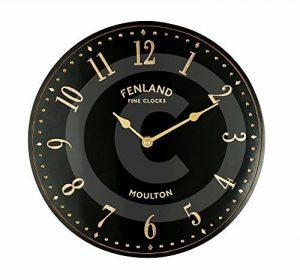 The Garden & Home Co. Horloge Murale Black Stable Noir 28 x 5 x 28 cm 17240 de la marque The Garden & Home Co. image 0 produit