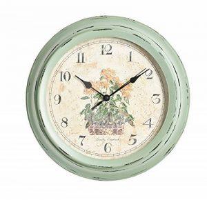 The Garden & Home Co. Horloge Murale Jardin secret Vert 30 x 5 x 30 cm 17229 de la marque The Garden & Home Co. image 0 produit
