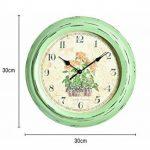The Garden & Home Co. Horloge Murale Jardin secret Vert 30 x 5 x 30 cm 17229 de la marque The Garden & Home Co. image 1 produit