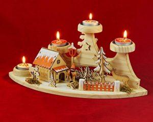 'Thé lumière support avec fumée Maison Forêt Maison Original Nain de jardin Salon Collection de la marque Wichtelstube-Kollektion image 0 produit