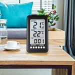 Thermomètre Intérieur Extérieur Sans fil NeKan Affichage LCD en de Température et Horloge Digital Thermomètre Maison Cuisine Bureau (Émetteur 1) de la marque NeKan image 6 produit