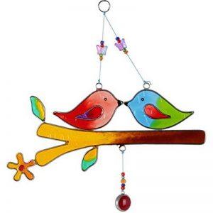 Éthiquement échangé oiseaux d'amour Suncatcher, beau cadeau de la marque Hunky Dory Gifts image 0 produit