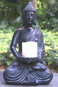 Tiaan 44cm de hauteur bougeoirs votives Statue de Bouddha Bouddha zen Bougeoir chaud pour Home & Garden de la marque TIAAN image 0 produit