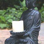 Tiaan 44cm de hauteur bougeoirs votives Statue de Bouddha Bouddha zen Bougeoir chaud pour Home & Garden de la marque TIAAN image 2 produit