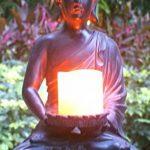 Tiaan 44cm de hauteur bougeoirs votives Statue de Bouddha Bouddha zen Bougeoir chaud pour Home & Garden de la marque TIAAN image 3 produit