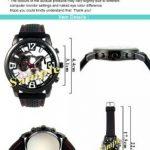 Timest - Autriche Styrie - Drapeau Pays - Montre Homme - Bracelet Silicone Noir Rond Analogique Quartz SF261 de la marque Timest image 1 produit