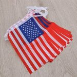 Tinksky Bannière de drapeau américain 32 drapeaux nationaux de pays Drapeau patriotique des Etats-Unis fanions Banderoles de bannière de banderole pour le supermarché Bar de partie Sports Club Event Decoration de la marque Tinksky image 3 produit