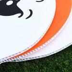 Tinksky Halloween Yard signer Ensemble, citrouille Ghost Spooky Jardin Pelouse Sign Drapeau Décoration avec piquet Halloween extérieur accessoire de 6pcs de la marque Tinksky image 4 produit
