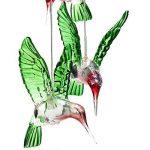 Tookie LED à suspendre lampe solaire, Changement de couleur Wind Chimes Vent Bell Fonctionne à l'énergie solaire Lumière pour maison, patio, terrasse, cour, jardin, allée Décoration de la marque Tookie image 2 produit