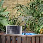 Topnma Pompe à Eau Solaire de 5W Fontaine de Jardin Solaire avec Débit Maximum 380L / H de la marque Topnma image 2 produit