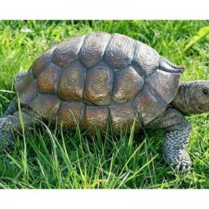 Tortue Figurine, statue de tortue en résine, env. 34cm x 25cm x 14cm de la marque Boltze image 0 produit