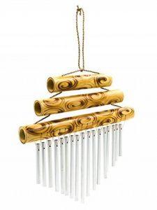 Triple Petit plateau en bambou Carillon 21 cm de la marque Siesta image 0 produit