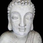 tête bouddha pierre pour jardin TOP 2 image 2 produit