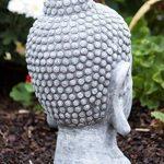 tête bouddha pierre pour jardin TOP 6 image 4 produit