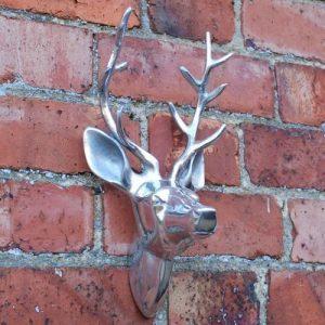 Tête de cerf - Rudy bébé mural en aluminium montées tête de cerf de la marque Black Scorpion Limited image 0 produit