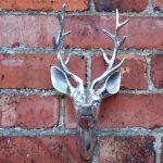 Tête de cerf - Rudy bébé mural en aluminium montées tête de cerf de la marque Black Scorpion Limited image 2 produit