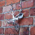 Tête de cerf - Rudy bébé mural en aluminium montées tête de cerf de la marque Black Scorpion Limited image 3 produit