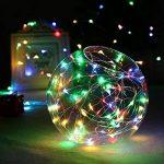 Tuokay 12m Lumières Solaires Étanches de Fil de Cuivre de Fil de la Lumière 100 LED pour le Jardin, Terrasse, Patio, Mariage, Partie, Noël (Coloré) de la marque Tuokay image 3 produit