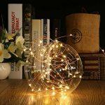 Tuokay 22M 200 LED Guirlande de Lumières 8 Modes de Lumières Imperméables de Cuivre de Fil pour la Décoration de Vacances, Mariages, Noël, Extérieur et Intérieur (Blanc Chaud) de la marque Tuokay image 3 produit