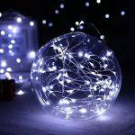 Tuokay 22M 200 LED Guirlande de Lumières 8 Modes de Lumières Imperméables de Cuivre de Fil pour la Décoration de Vacances, Mariages, Noël, Extérieur et Intérieur (Blanc) de la marque Tuokay image 2 produit