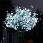 Tuokay 22M 200 LED Guirlande de Lumières 8 Modes de Lumières Imperméables de Cuivre de Fil pour la Décoration de Vacances, Mariages, Noël, Extérieur et Intérieur (Blanc) de la marque Tuokay image 4 produit