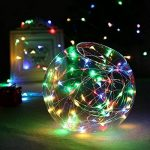 Tuokay 22M 200 LED Guirlande de Lumières 8 Modes de Lumières Imperméables de Cuivre de Fil pour la Décoration de Vacances, Mariages, Noël, Extérieur et Intérieur (Multicolore) de la marque Tuokay image 4 produit