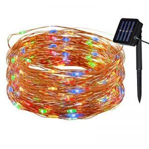 Tuokay 22M 200 LED Guirlande de Lumières 8 Modes de Lumières Imperméables de Cuivre de Fil pour la Décoration de Vacances, Mariages, Noël, Extérieur et Intérieur (Multicolore) de la marque Tuokay image 0 produit