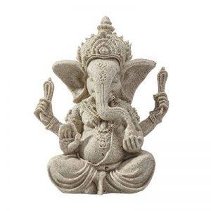 ULTNICE 1 Pcs éléphant Statue Sculpture grès Ganesha Bouddha fait main Figurine de la marque ULTNICE image 0 produit
