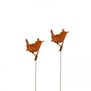 Unbekannt 'Clôture roi, fiche Fleurs Troglodyte; oiseaux–Lot de 2 de la marque Unbekannt image 0 produit
