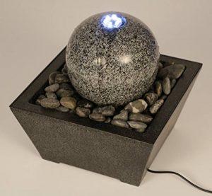Unbekannt 'Jeu d'eau avec boule de marbre Ocean Green, avec réservoir, fontaine de jardin de la marque Unbekannt image 0 produit