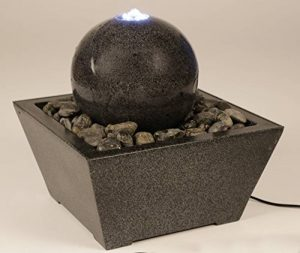 Unbekannt Jeu d'eau avec boule en granite anthracite + Pot à fontaine de jardin de la marque Unbekannt image 0 produit
