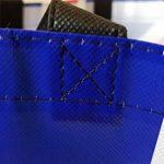 Union Jack Sac de shopping–Tote Sac réutilisable/British UK souvenir/Idéal pour plage/shopping/pique-nique/drapeau Bleu Blanc Rouge/noir côtés/Nylon robuste avec points de suture de la marque Lambert image 3 produit