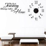Vakind® Chic 3D Grande Horloge Murale DIY de la marque Vakind image 1 produit