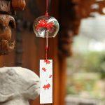 Vent Bell japonais Carillon éolien en verre fait main vent chimes- (poisson) de la marque EliteShine image 2 produit