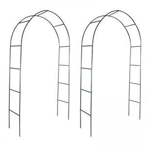 vidaXL 2x Arche de Jardin pour Plantes Grimpantes Arceau à Rosiers Décor de la marque vidaXL image 0 produit