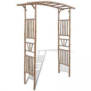 vidaXL Arche pour Rosiers Plantes Grimpantes Jardin Bambou Arceau de Jardin de la marque vidaXL image 0 produit