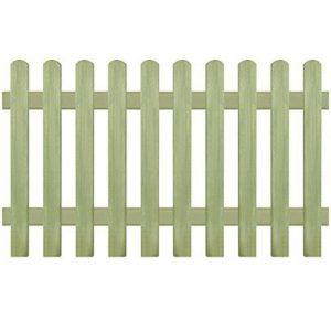 vidaXL Clôture Bois de Pin Imprégné 170x100cm Bordure de Jardin Patio Barrière de la marque vidaXL image 0 produit