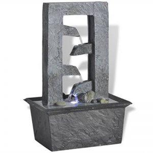 vidaXL Fontaine d'intérieur avec lumière éclairage LED Poly-résine Décoration Cascade de la marque vidaXL image 0 produit